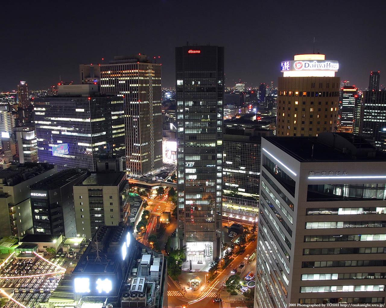 大阪駅前ダイヤモンド地区1