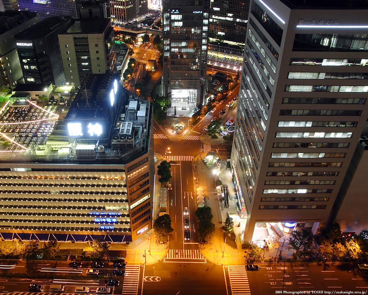 大阪駅前交差点
