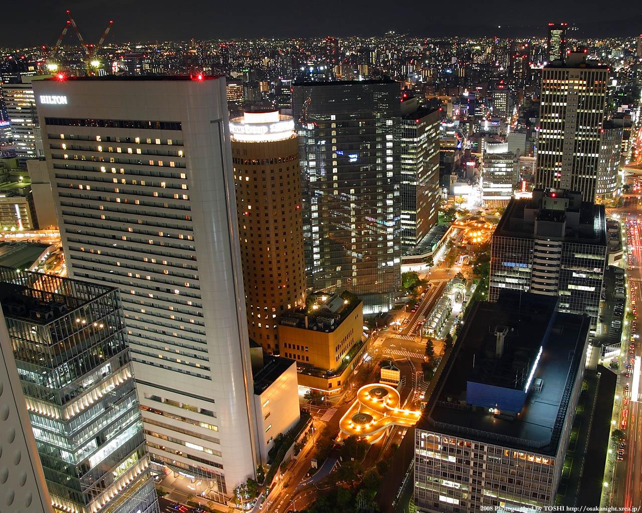 大阪駅前ビル群1