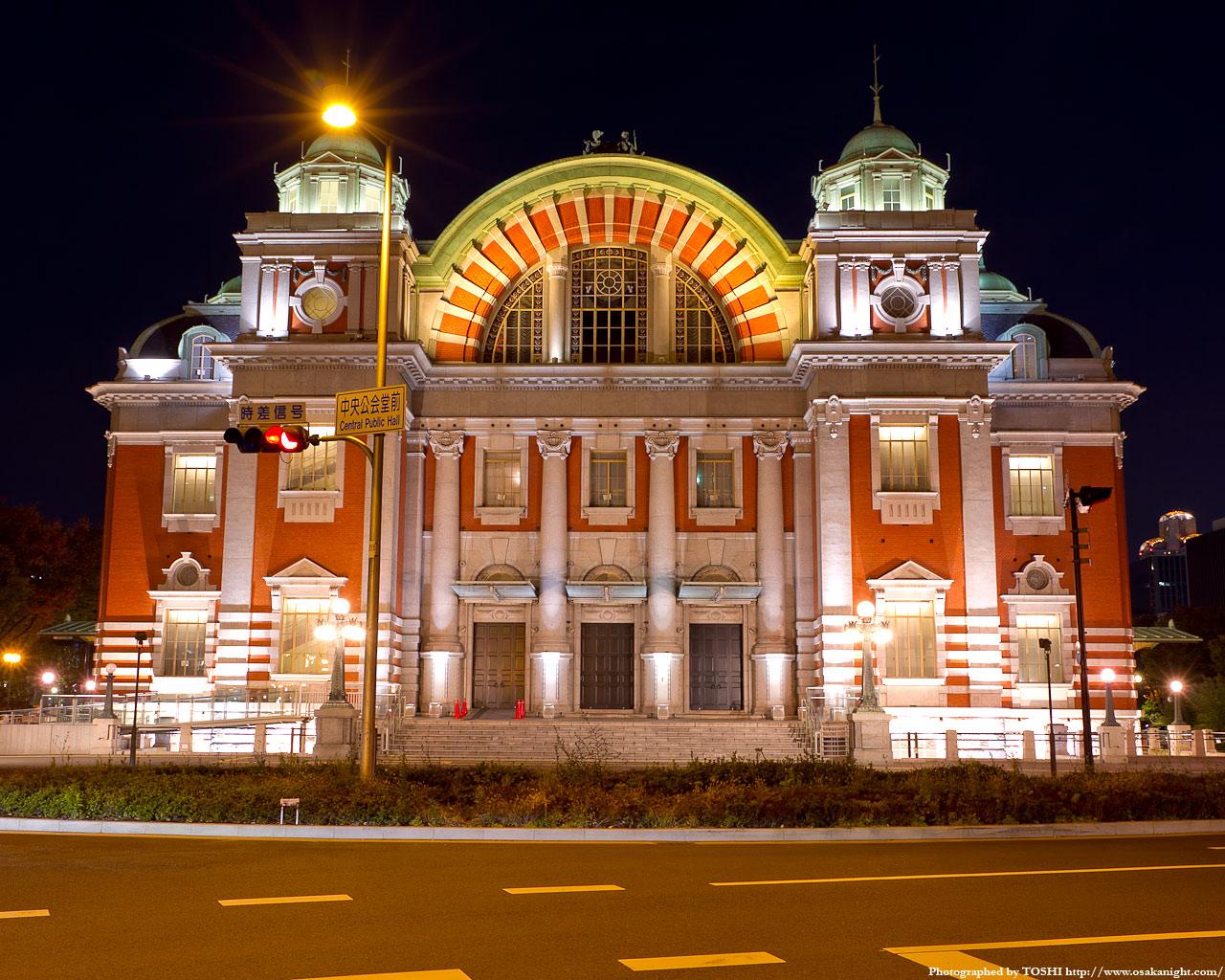 大阪市中央公会堂正面2