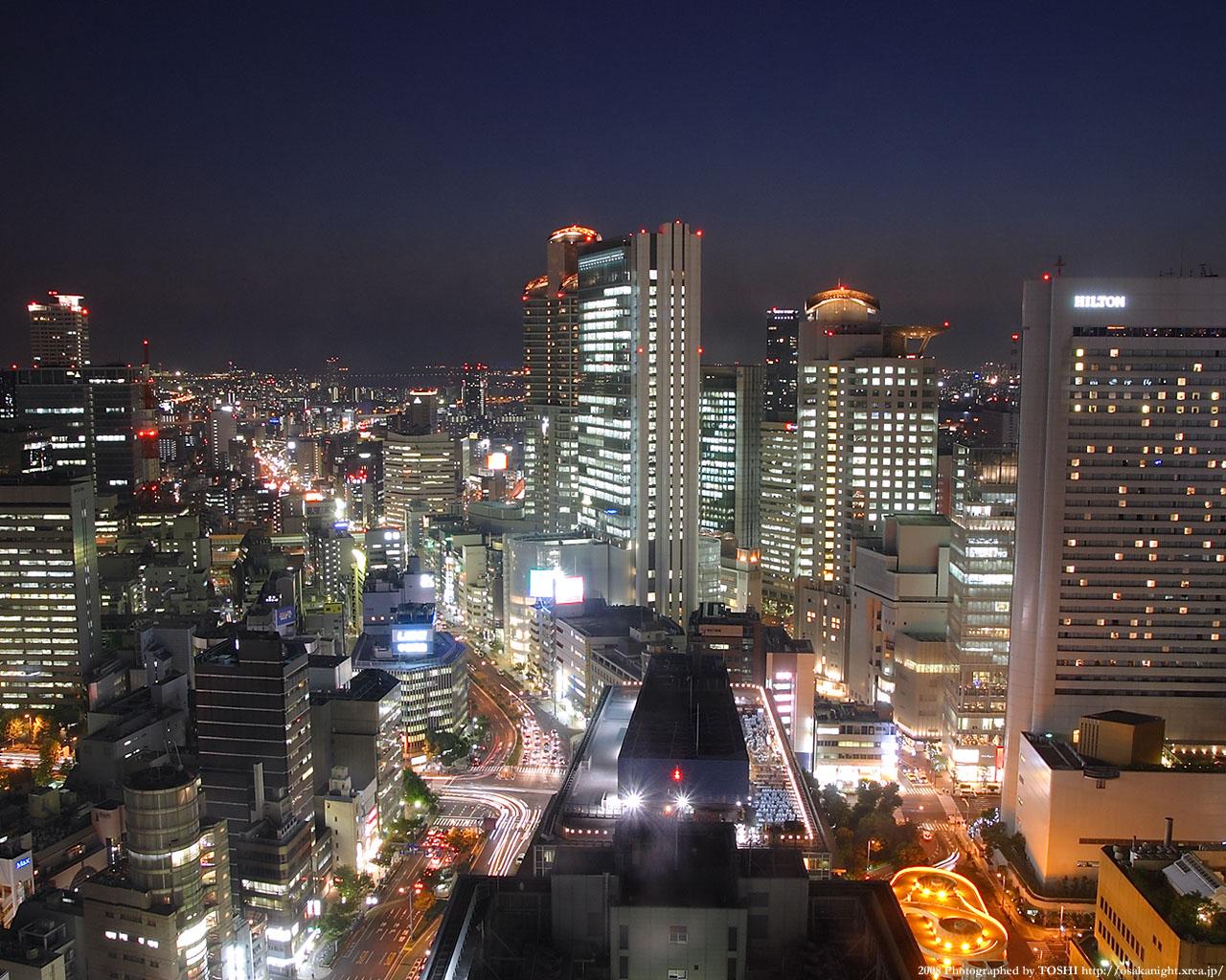 西梅田の夜景