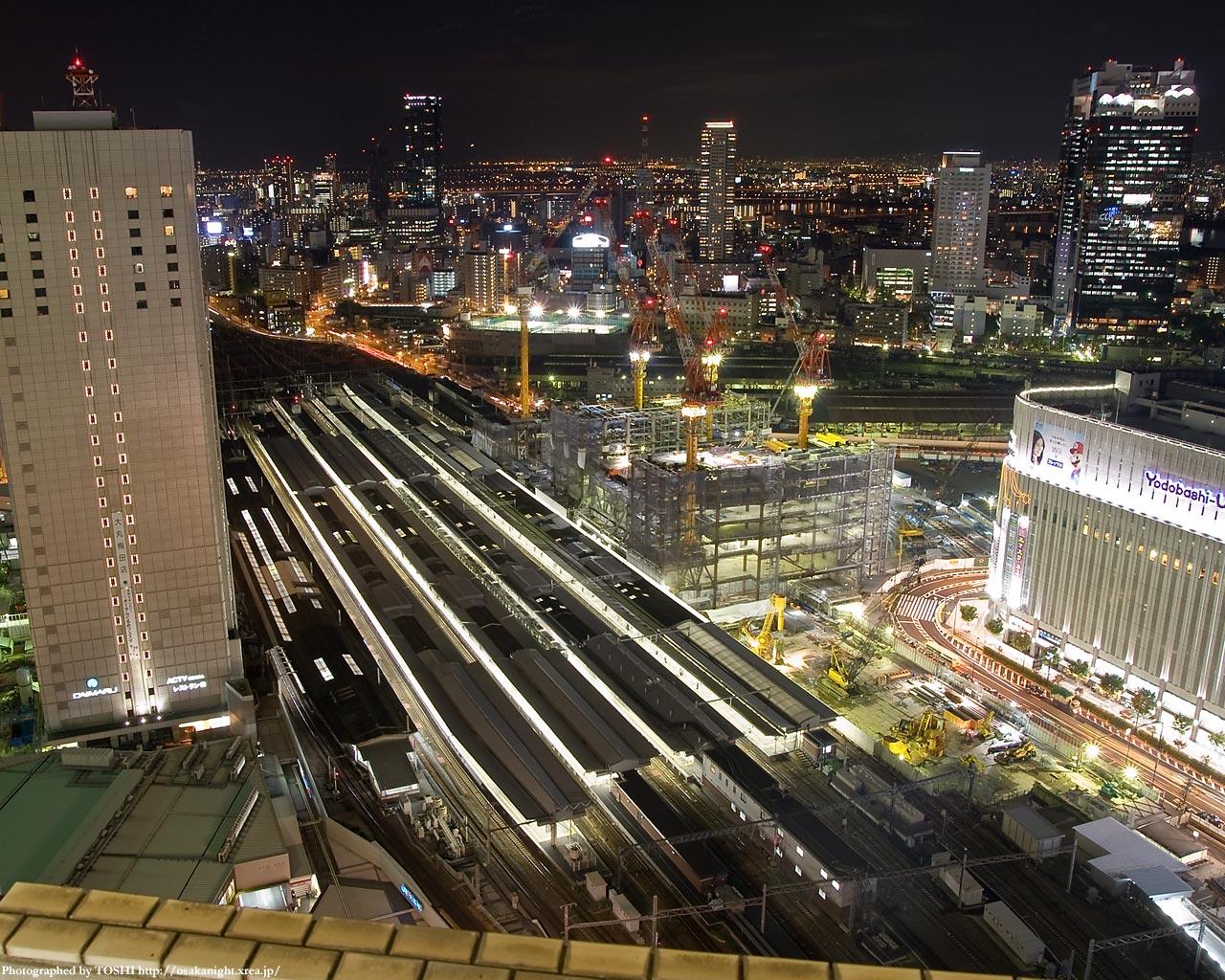 西側展望台(JR大阪駅)