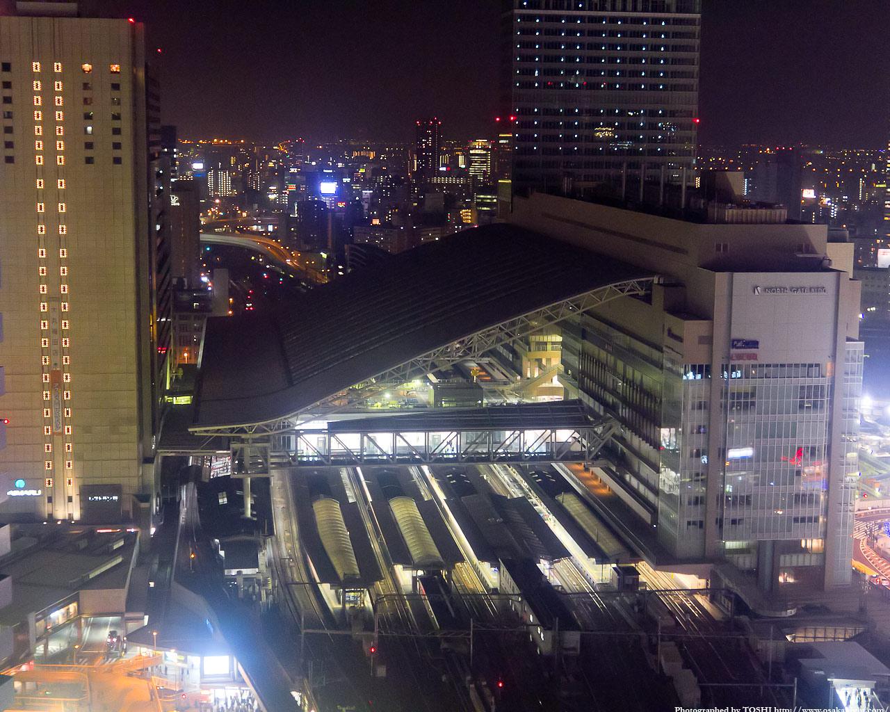 大阪ステーションシティの夜景2