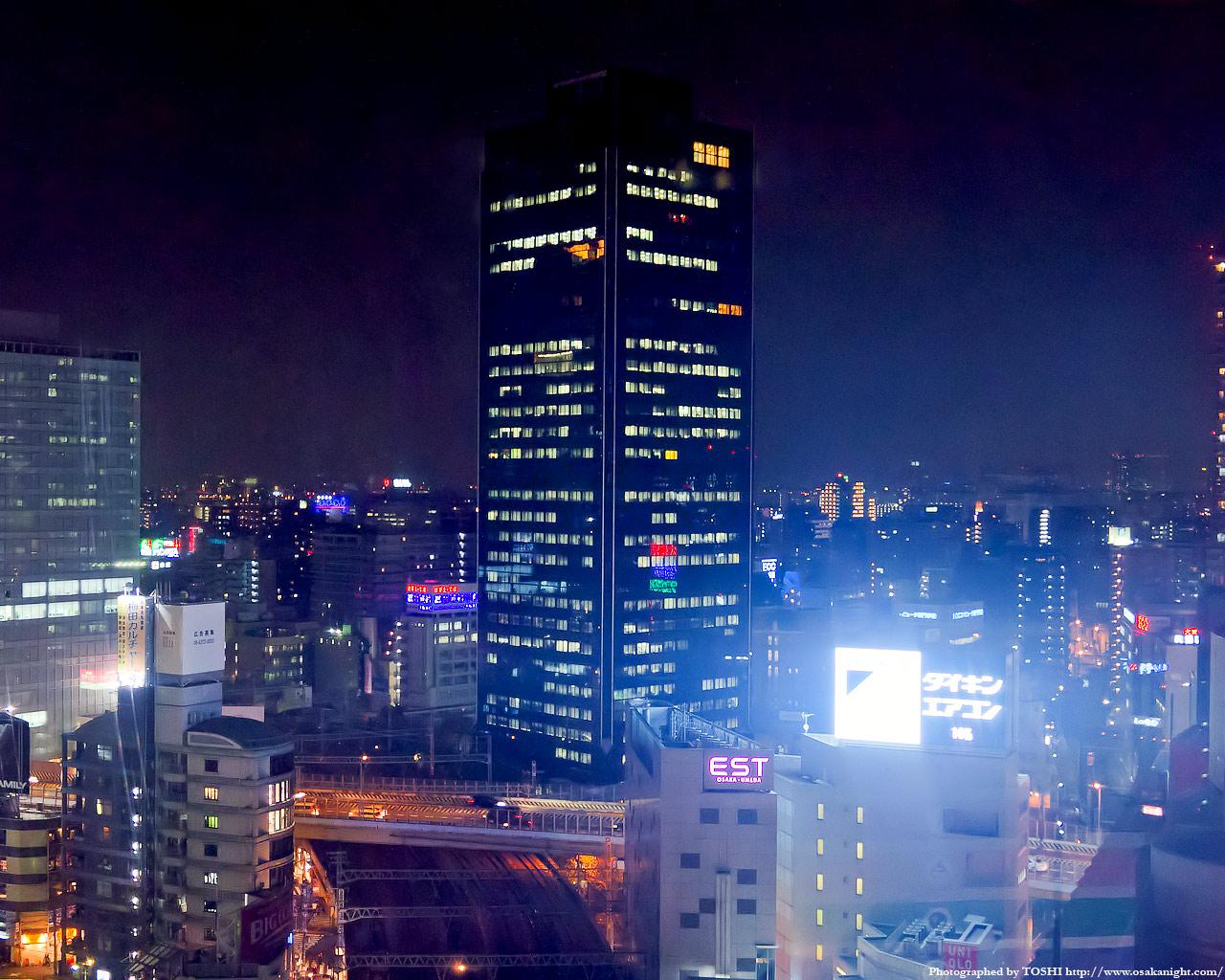 梅田センタービル夜景