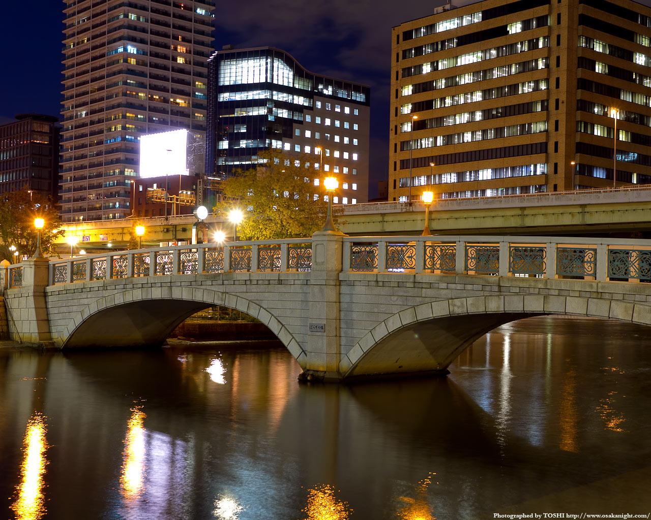 ばらぞの橋夜景1