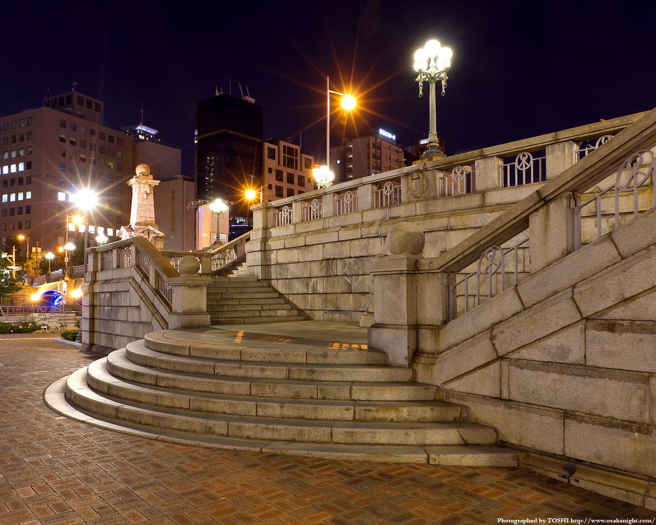 難波橋の夜景1