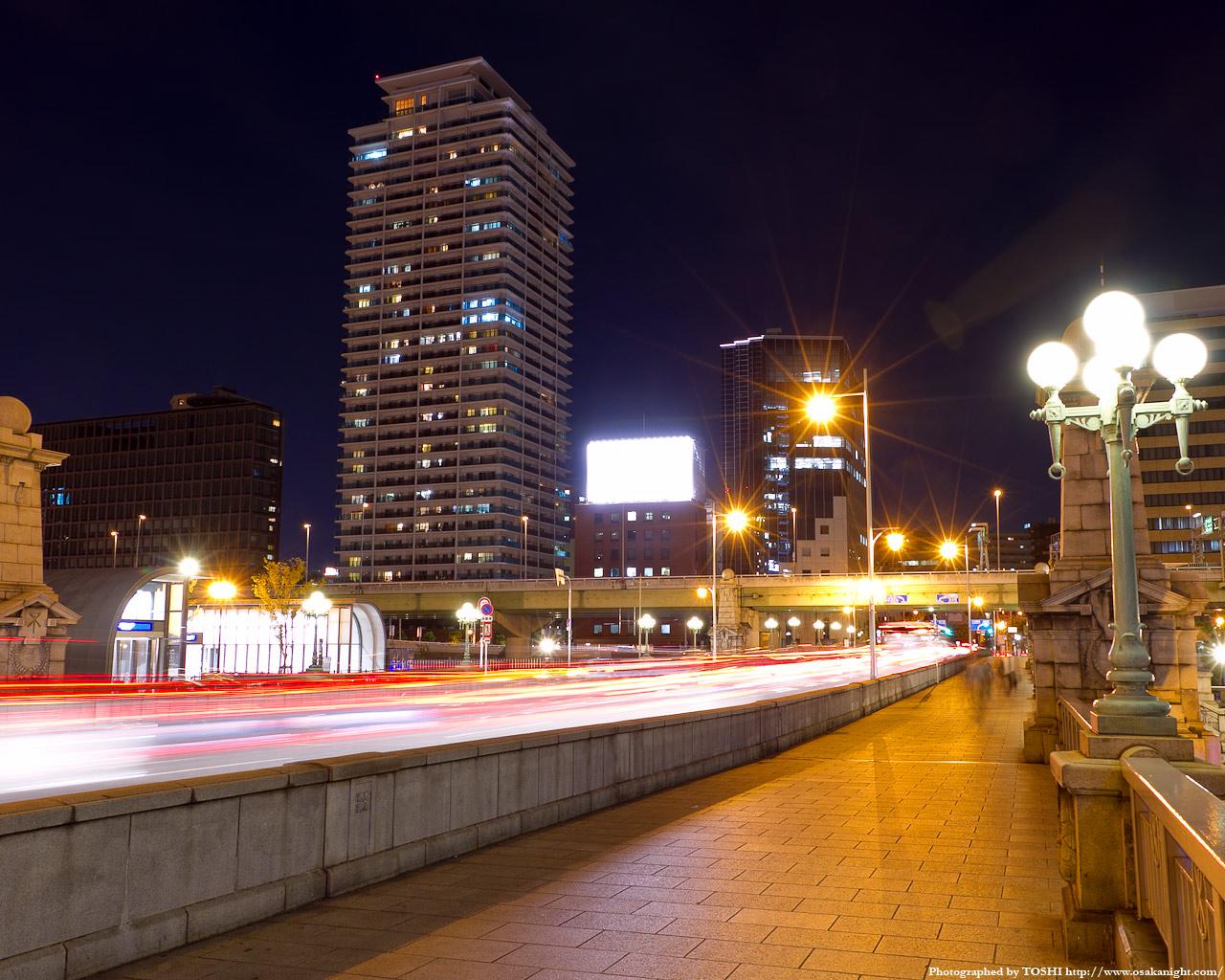 難波橋の夜景4