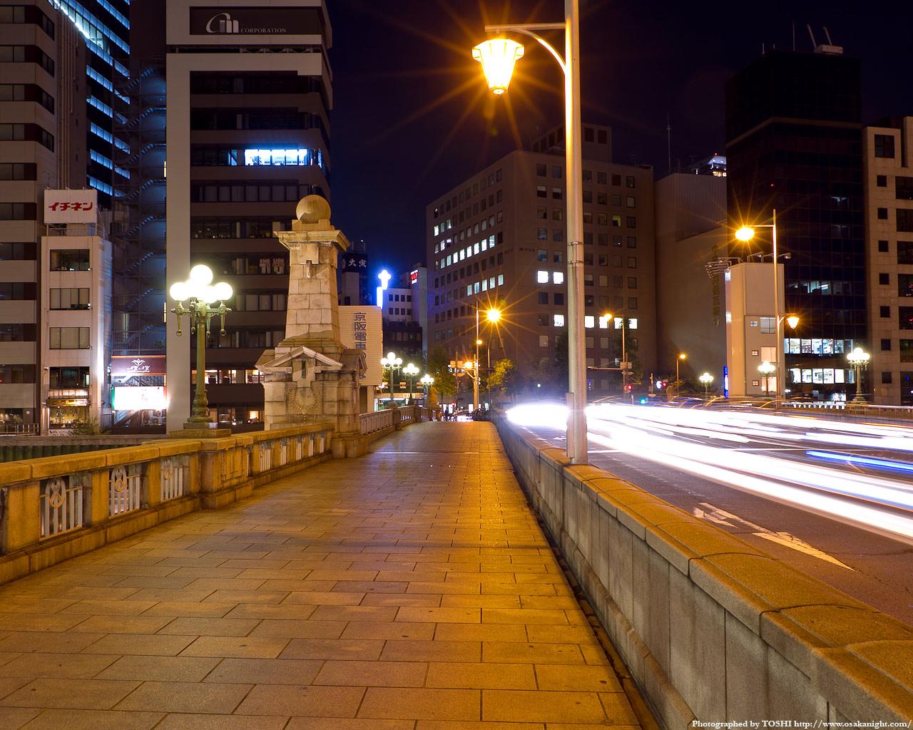 難波橋の夜景5