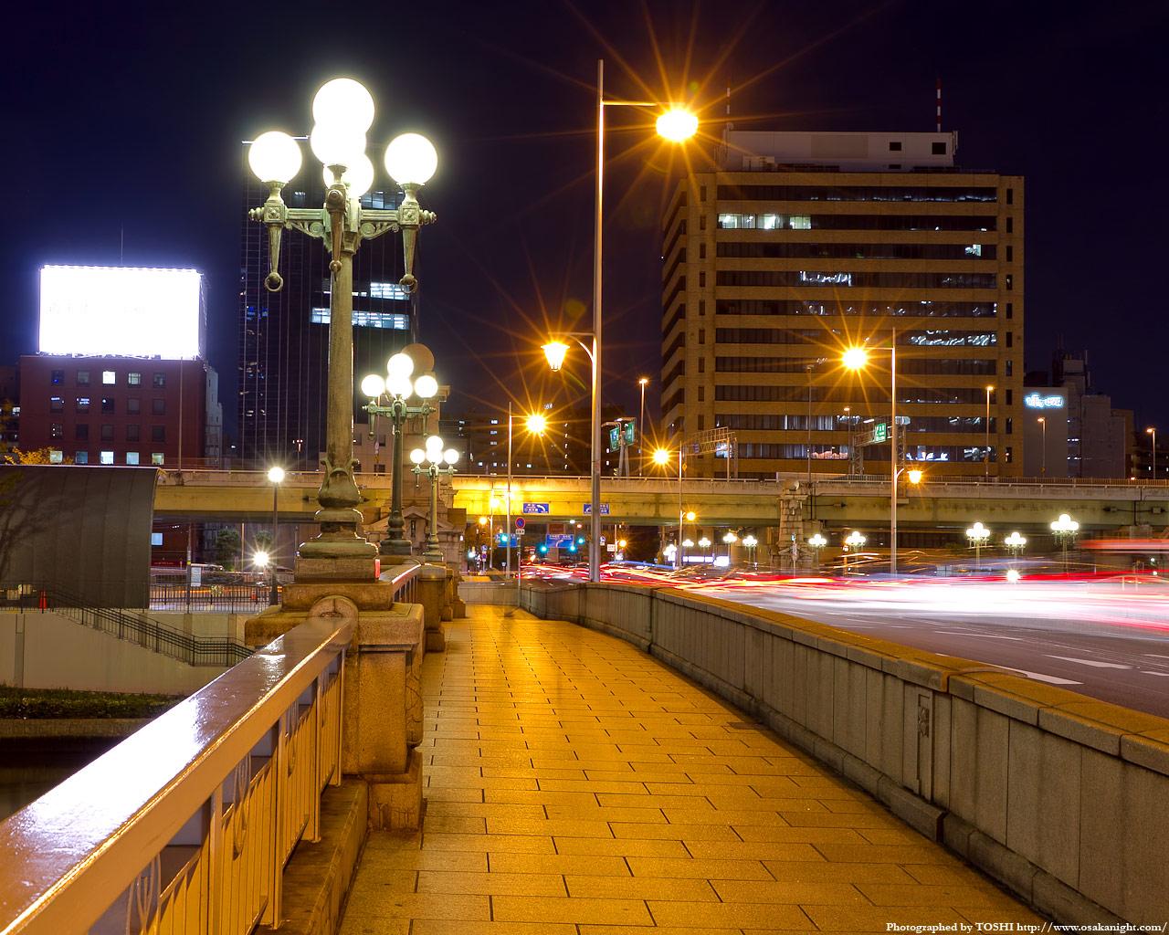 難波橋の夜景6