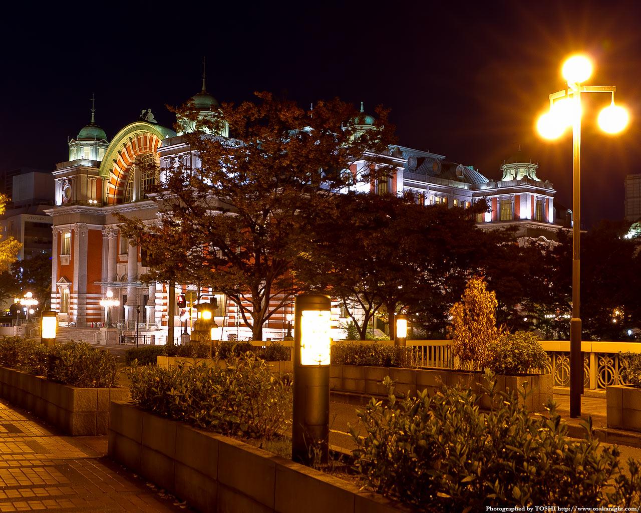 鉾流橋と大阪市中央公会堂