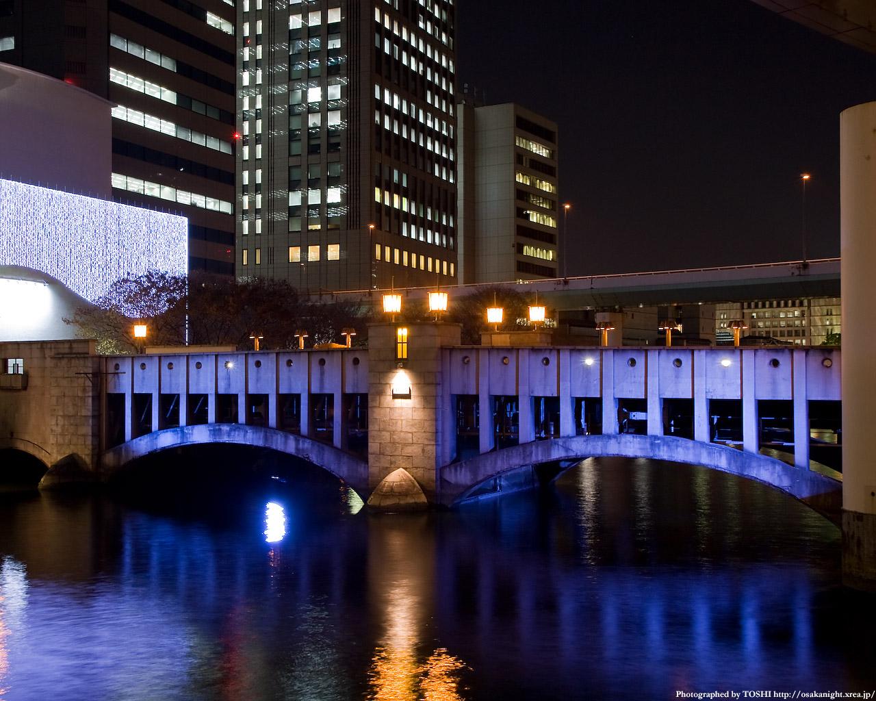 錦橋ライトアップ1
