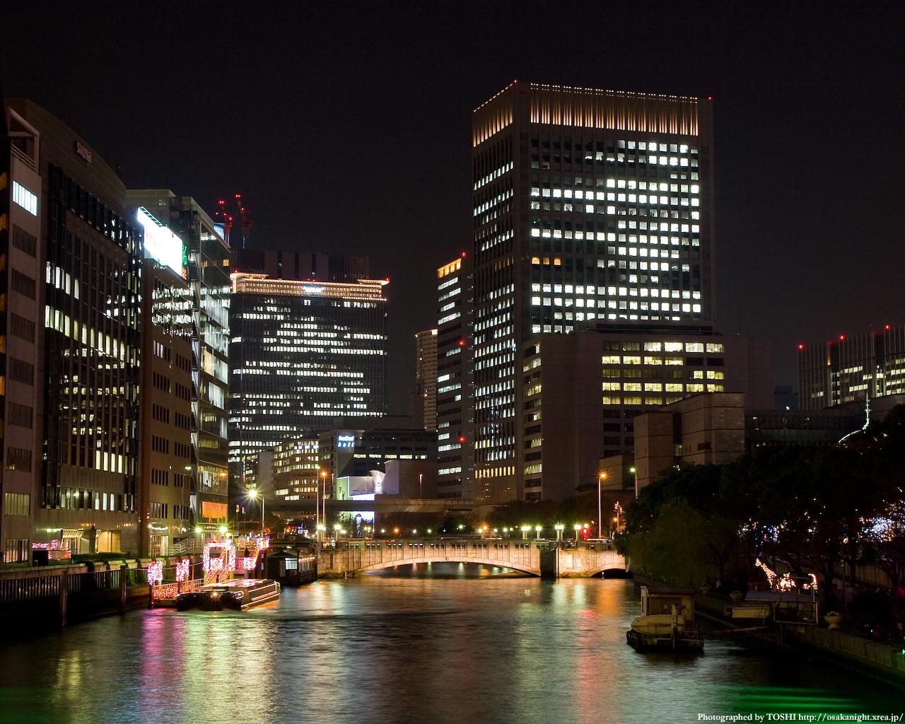 淀屋橋ライトアップ1