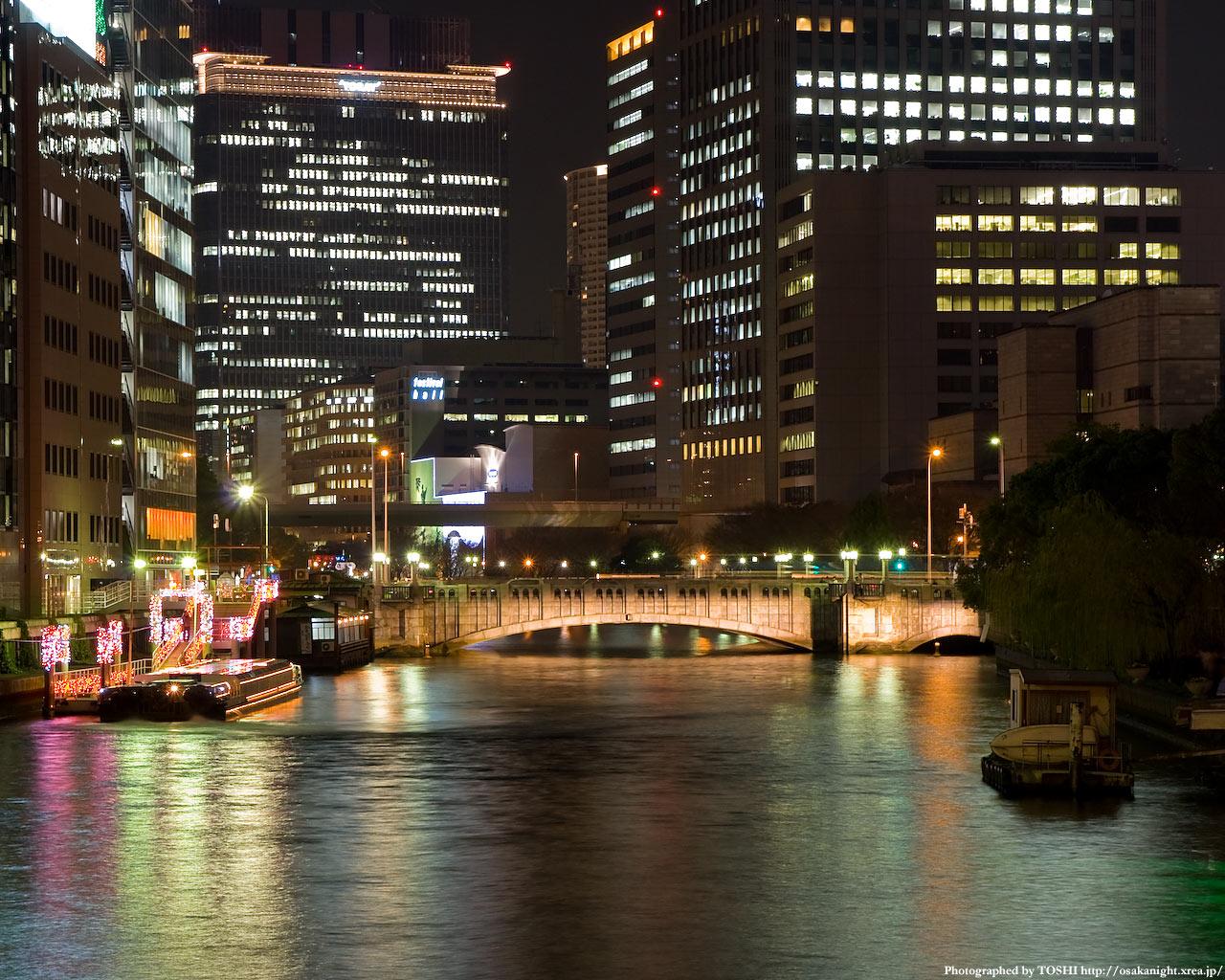 淀屋橋ライトアップ2