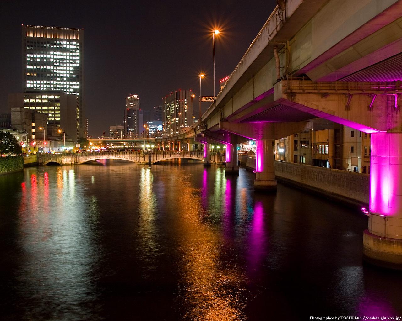 光の回廊と大江橋2