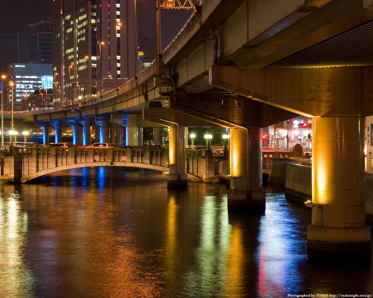 光の回廊と大江橋6