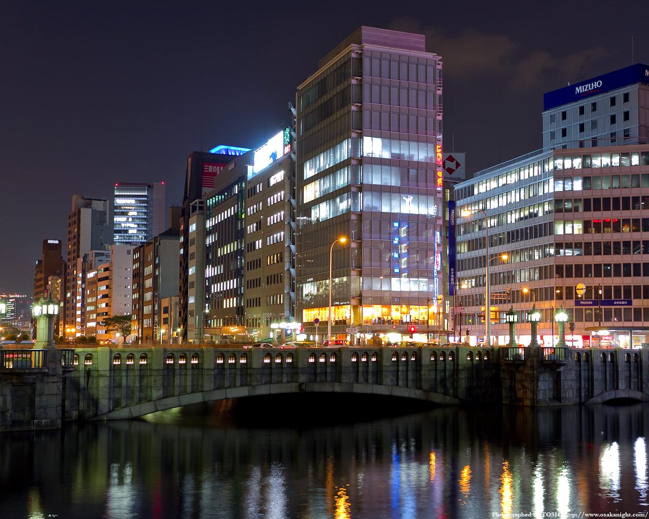 淀屋橋の夜景1