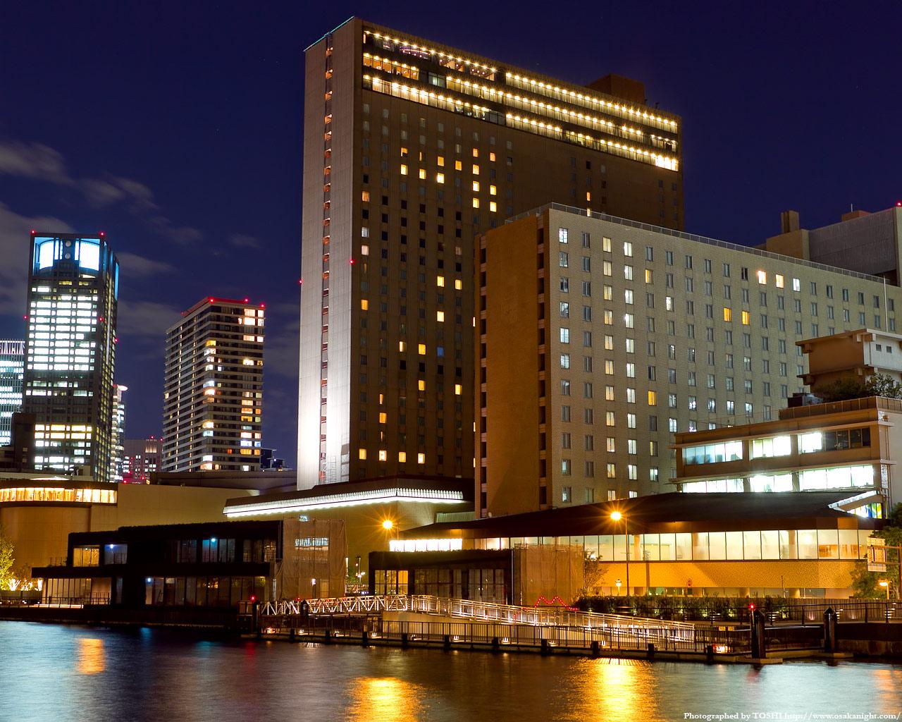 リガーロイヤルホテル大阪夜景1