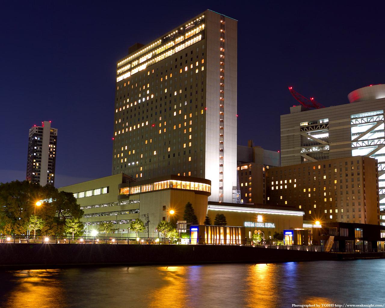 リガーロイヤルホテル大阪夜景2
