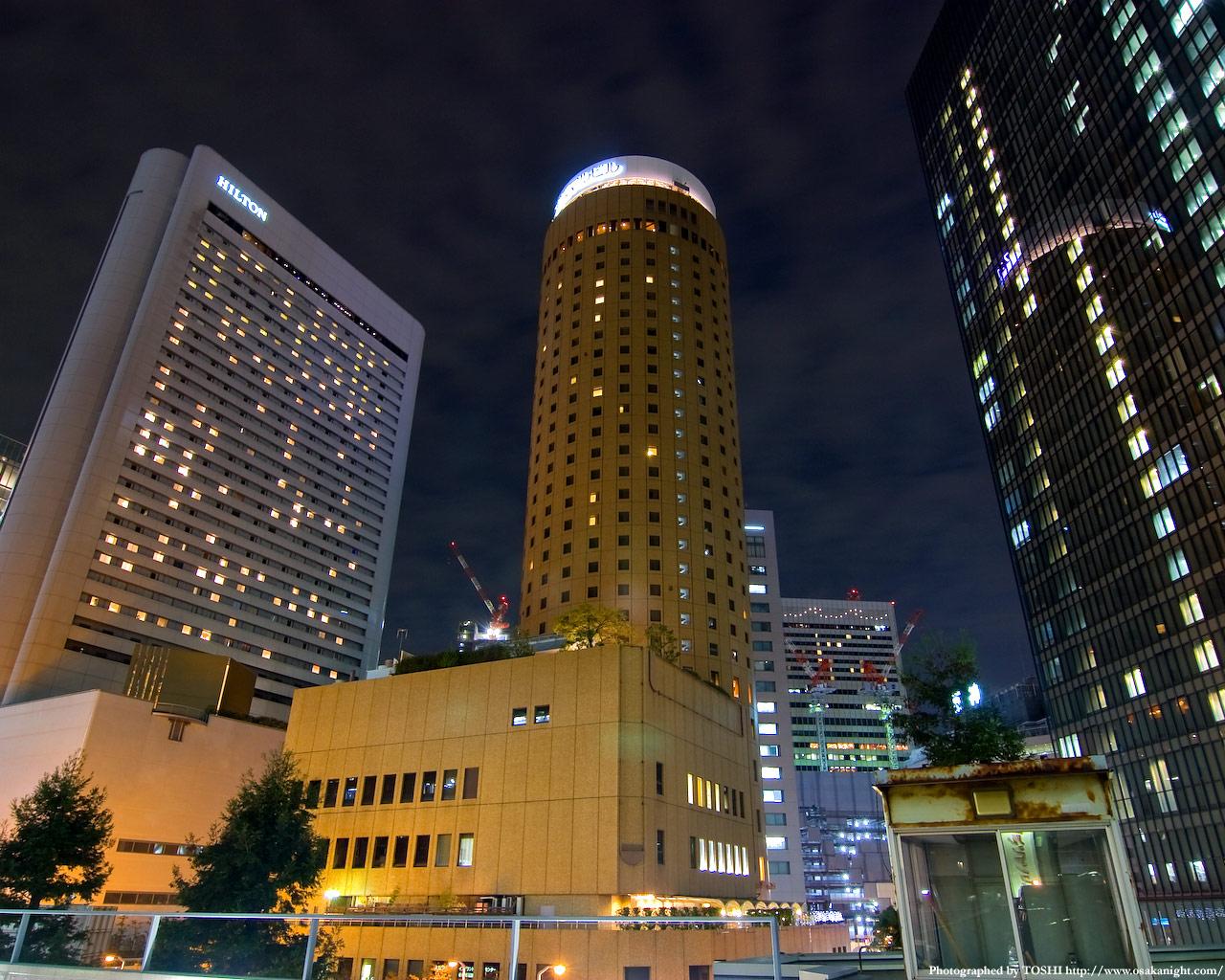 大阪マルビル夜景