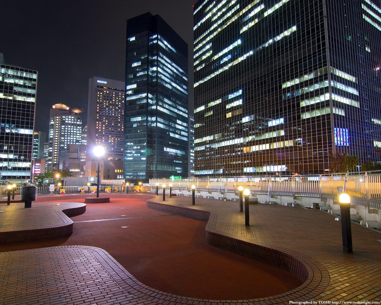 大阪駅前第3ビル公開緑地