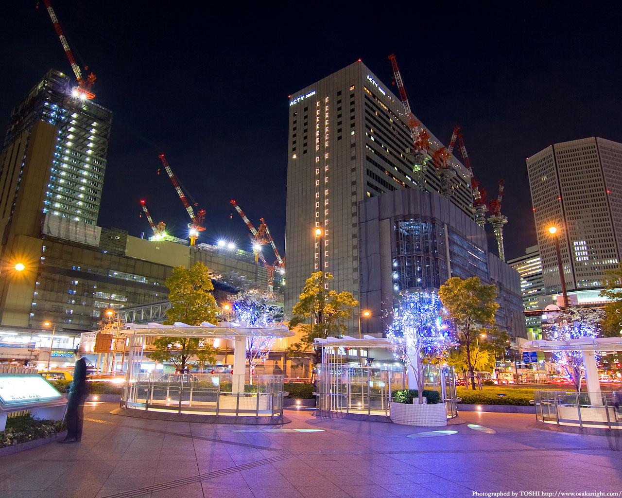 大阪ステーションシティ夜景