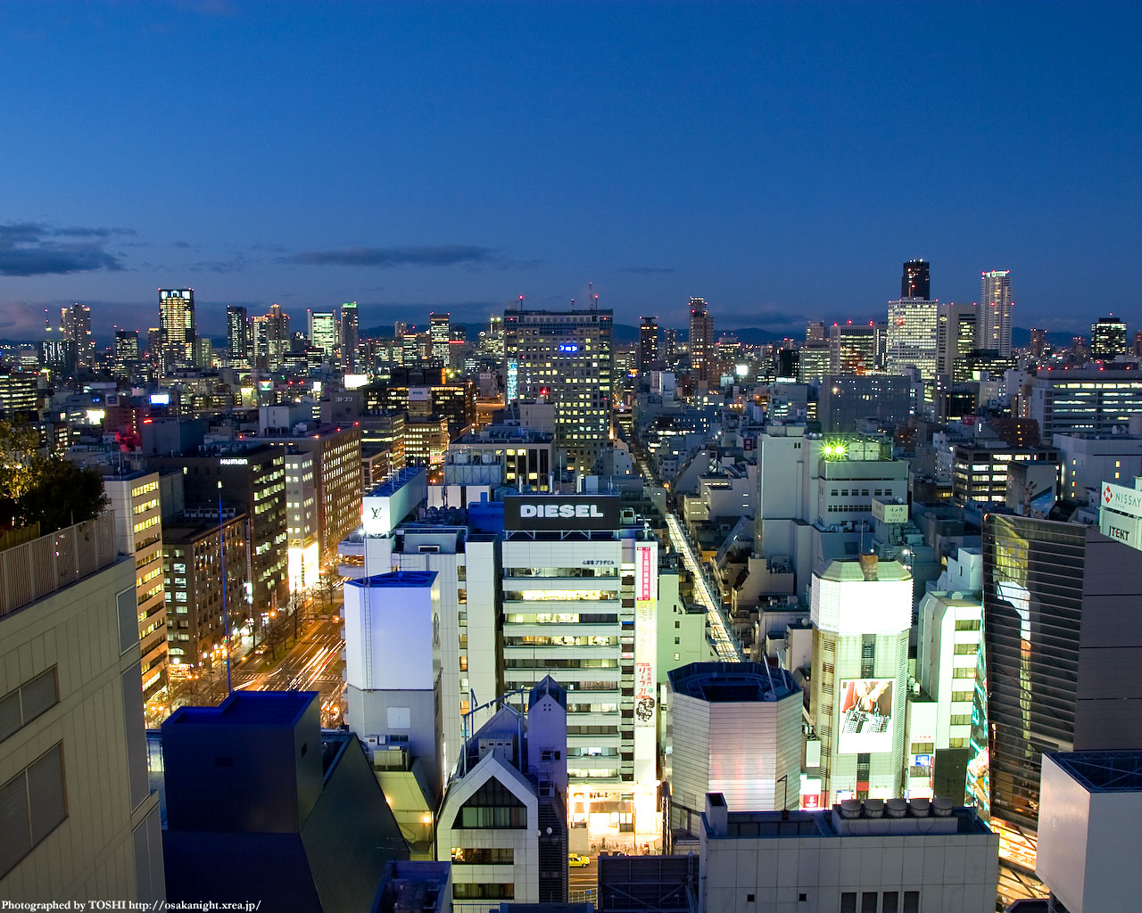 梅田方面の夜景2