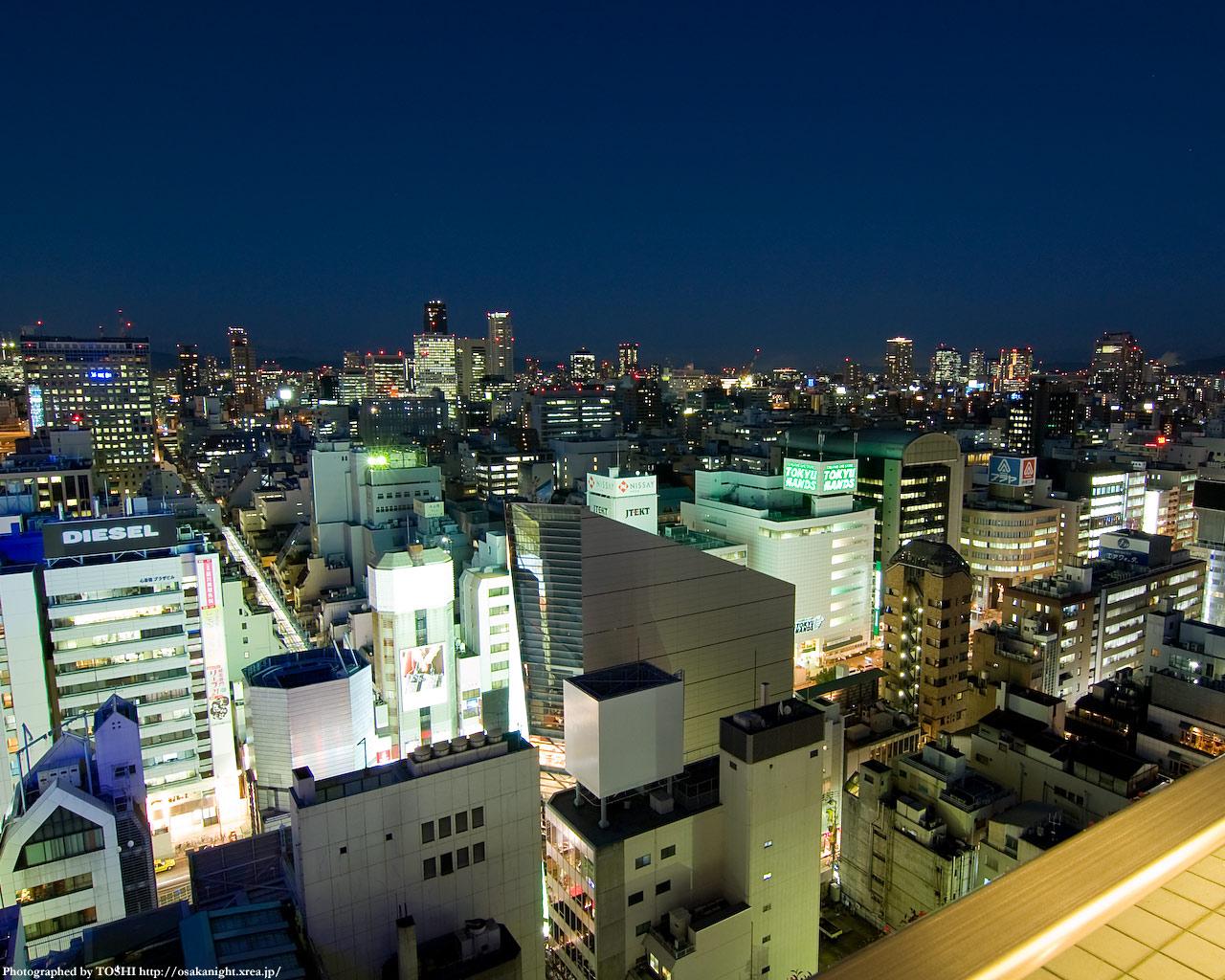 天満・京橋方面の夜景1