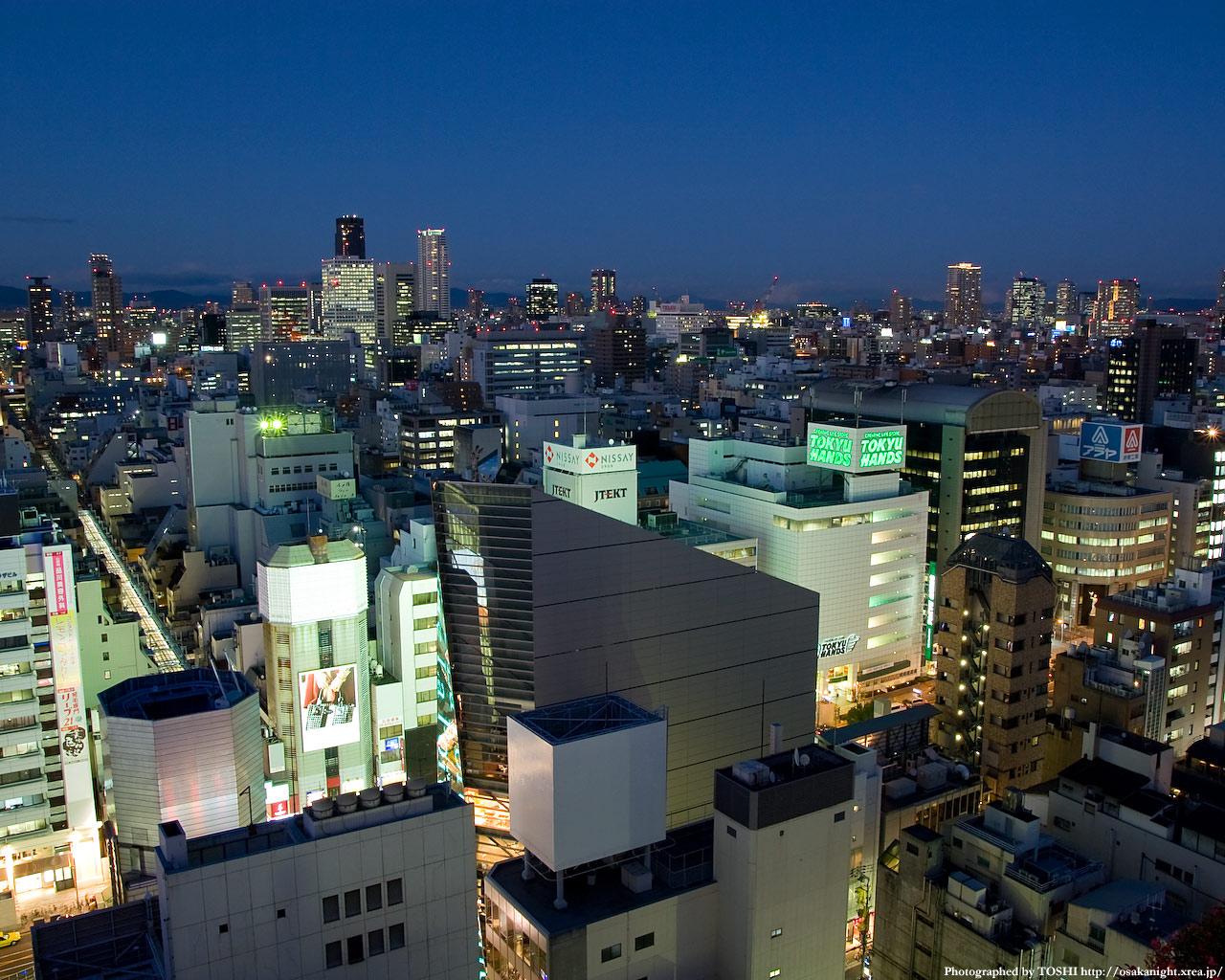 天満・京橋方面の夜景2