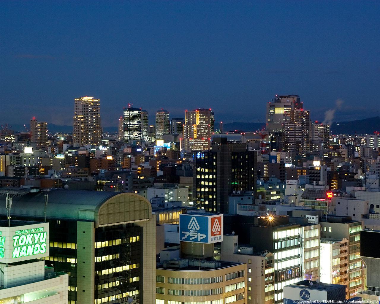 京橋OBP・谷町四丁目周辺の高層ビル群1
