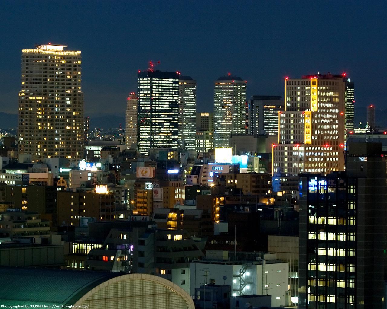 京橋OBP・谷町四丁目周辺の高層ビル群2
