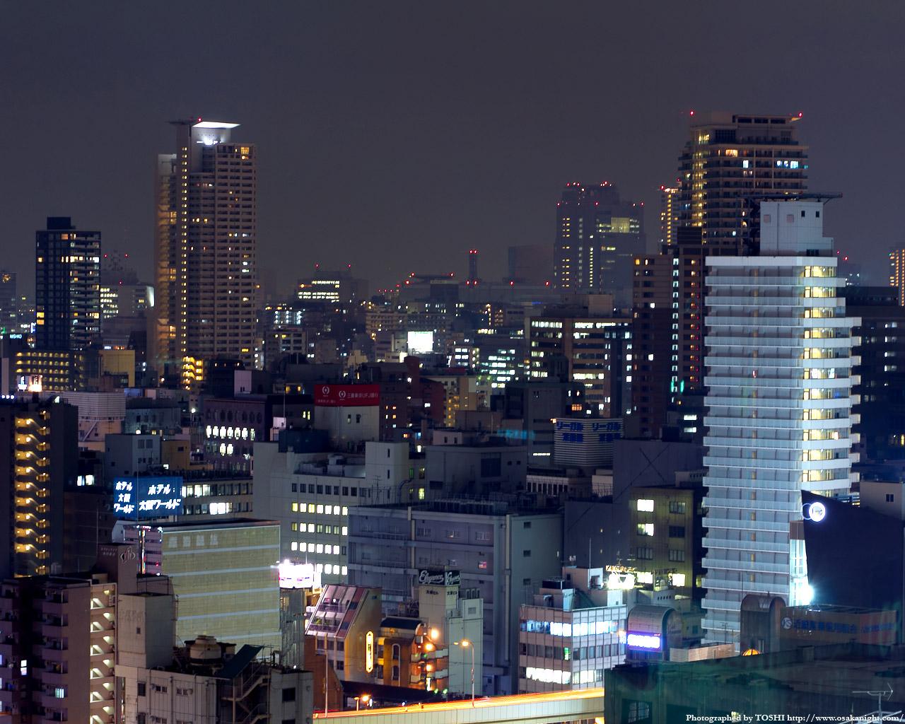 谷町方面の夜景