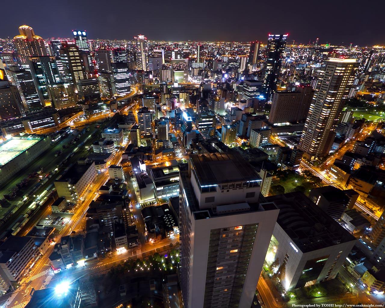 福島駅周辺の俯瞰夜景