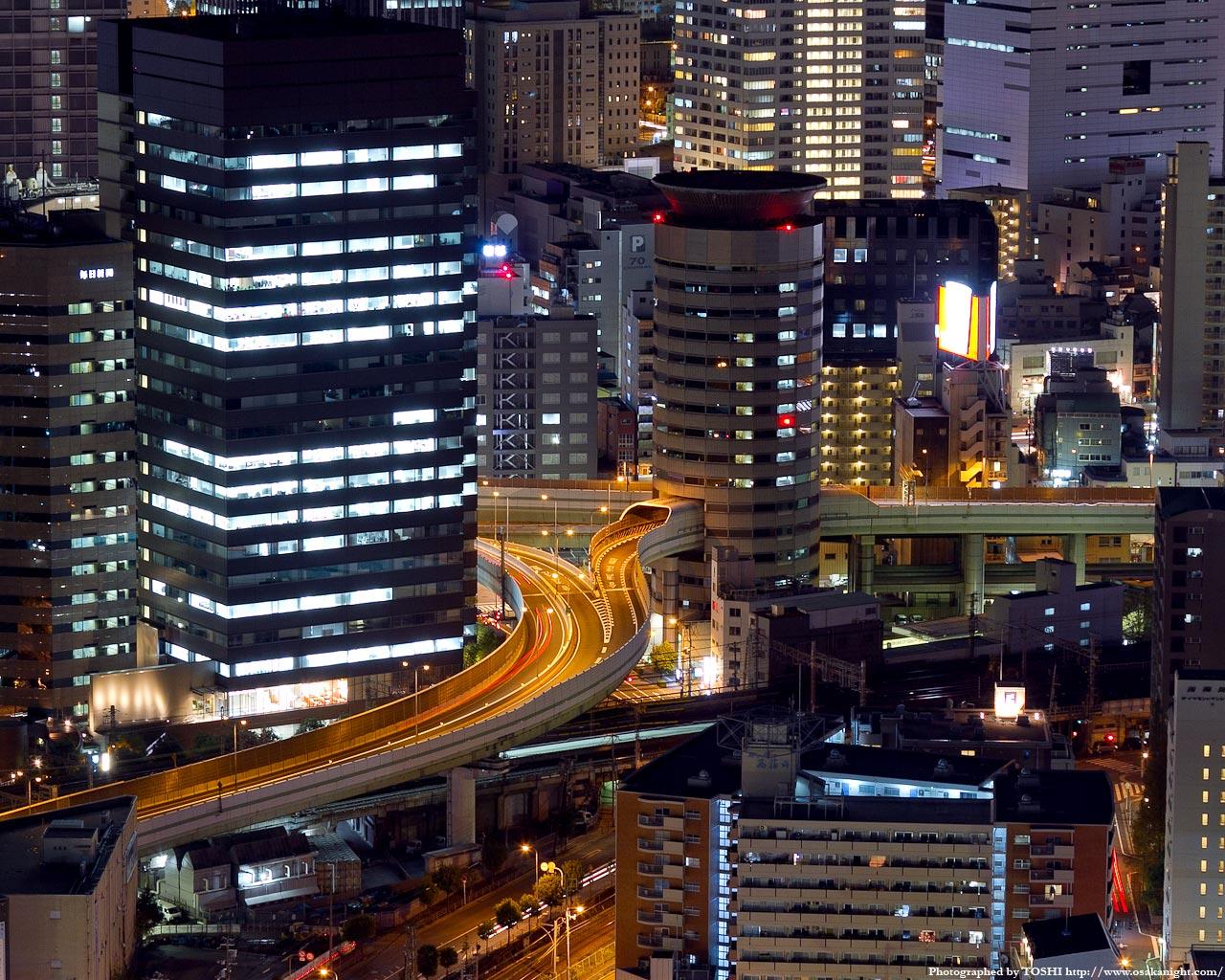 阪神高速梅田出口ゲートタワービル(ビーハイブ)