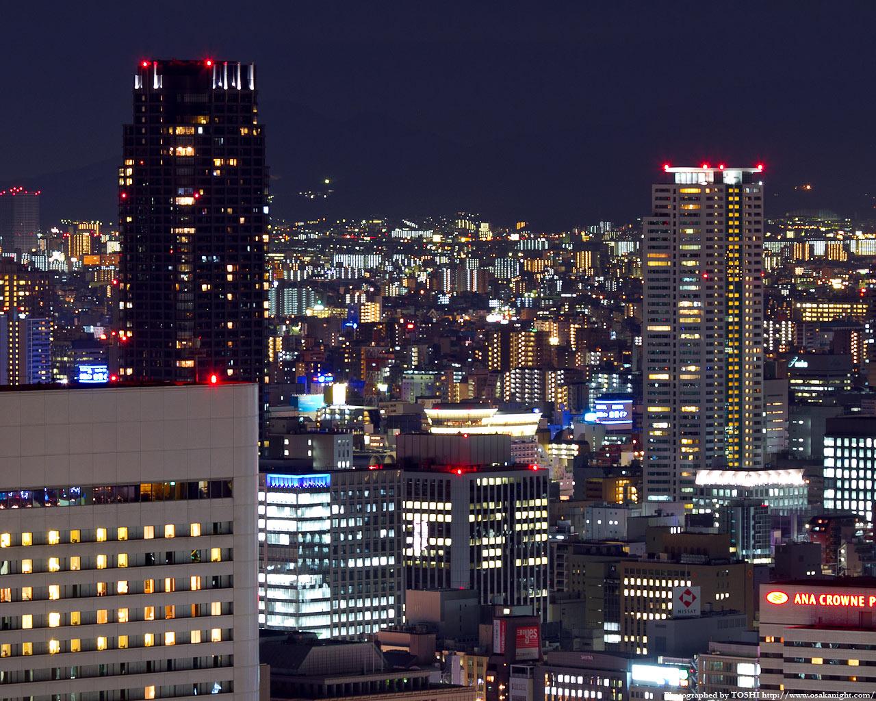 TheKitahama〜シティタワー大阪の夜景